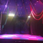 unsere Bühne im großen Zelt