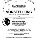 2003 Plakat