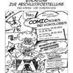 2012 Comicsches Plakat